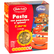 Dalla Costa PASTE DISNEY CARS DIN GRAU DUR 250GR